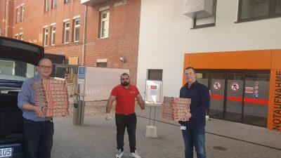 25.03.2020 – Pizza für Bedürftige